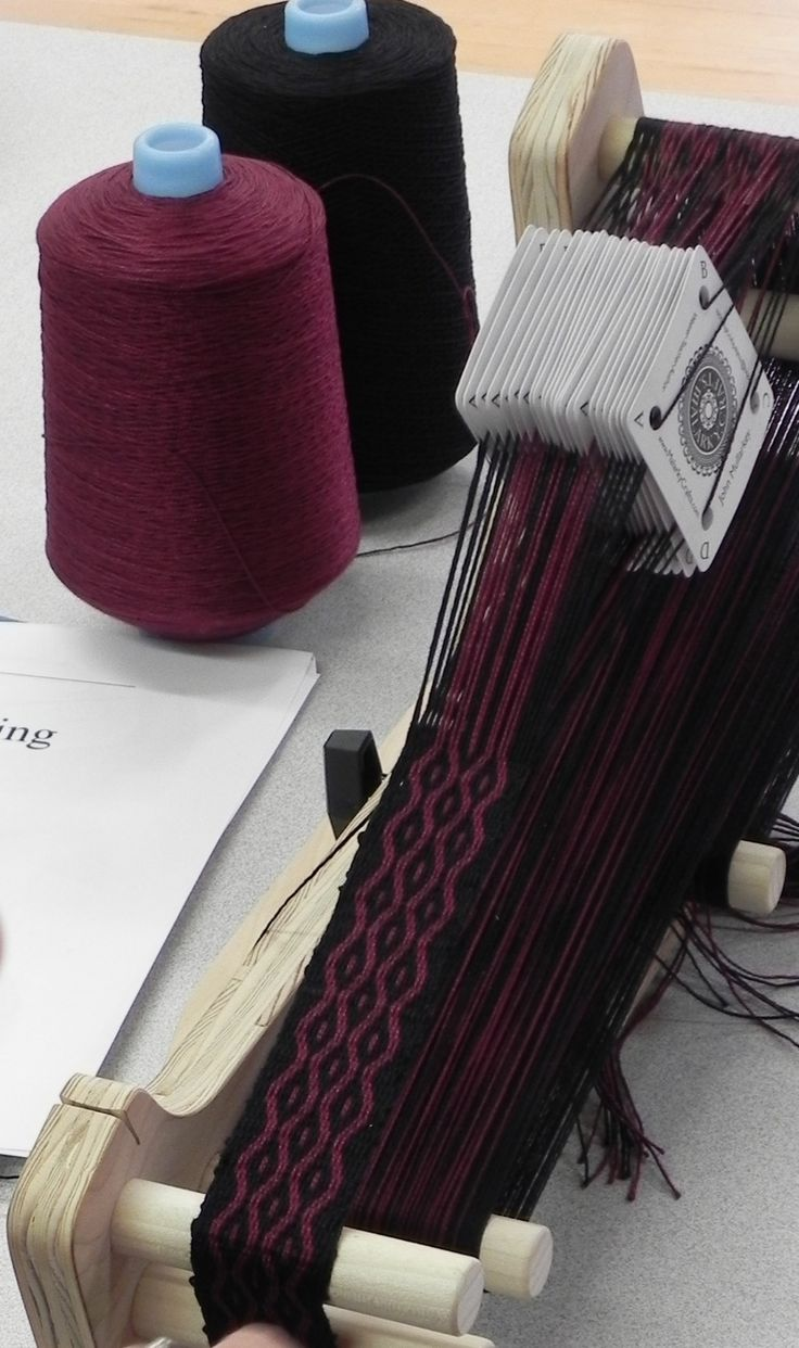 Tablet Weaving: Start to Finish with John Mullarkey at Sievers School of Fiber Arts.  www.sieversschool.com