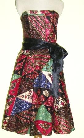 Batik Dress - Punya Indonesia
