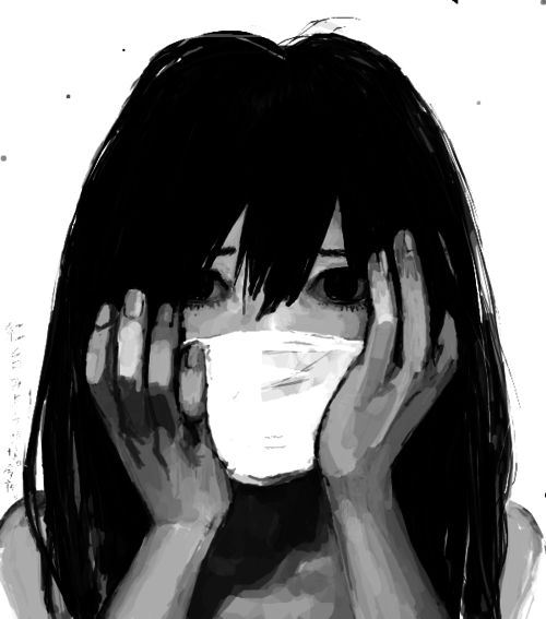 Sad Anime Girl Tumblr ☆ Art ☆ Pinterest Anime