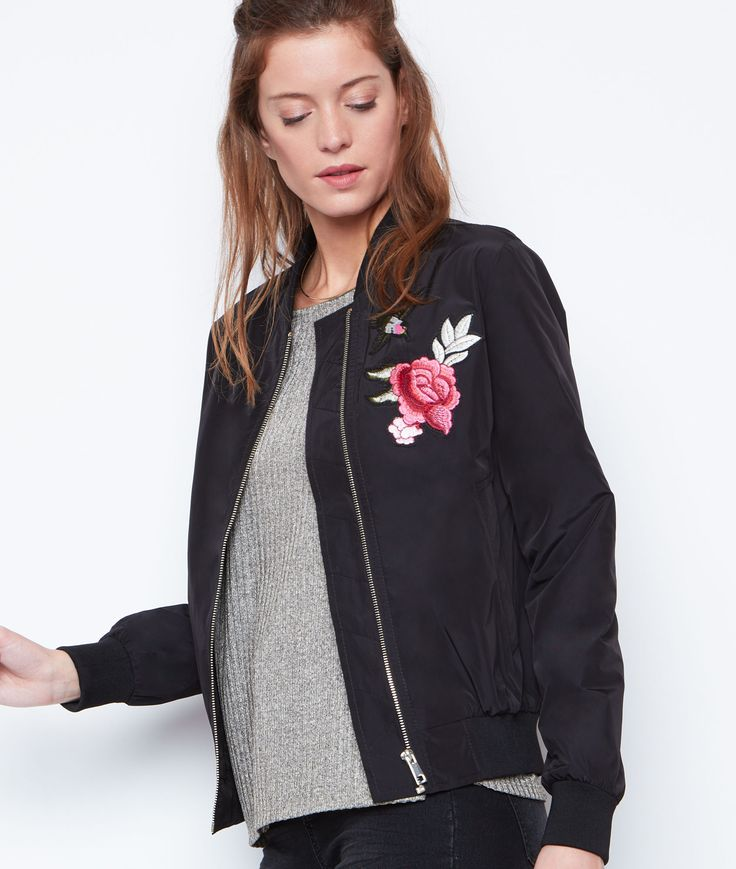 17 meilleures id es propos de bombers femme sur pinterest blouson bomber femme stradivarius. Black Bedroom Furniture Sets. Home Design Ideas
