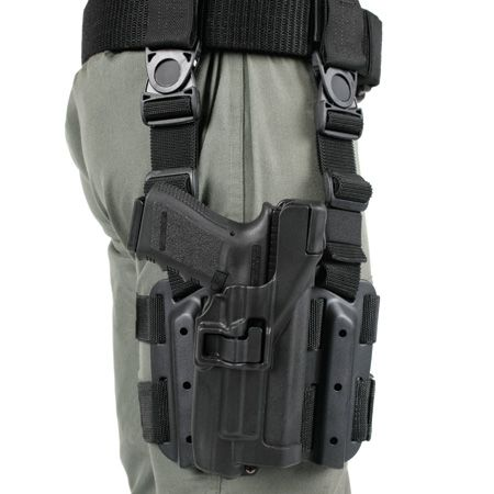Level 3 SERPA Light Bearing Tactical Holster - BLACKHAWK!