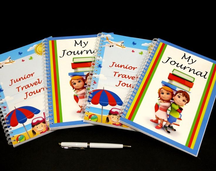 Children's Journals - Set of 2, A5 & Wire Bound, Kids Travel Journal and Kids Monthly Journal for Recording Memories, Gift for Kids by JadoreBooks on Etsy https://www.etsy.com/listing/242805892/childrens-journals-set-of-2-a5-wire