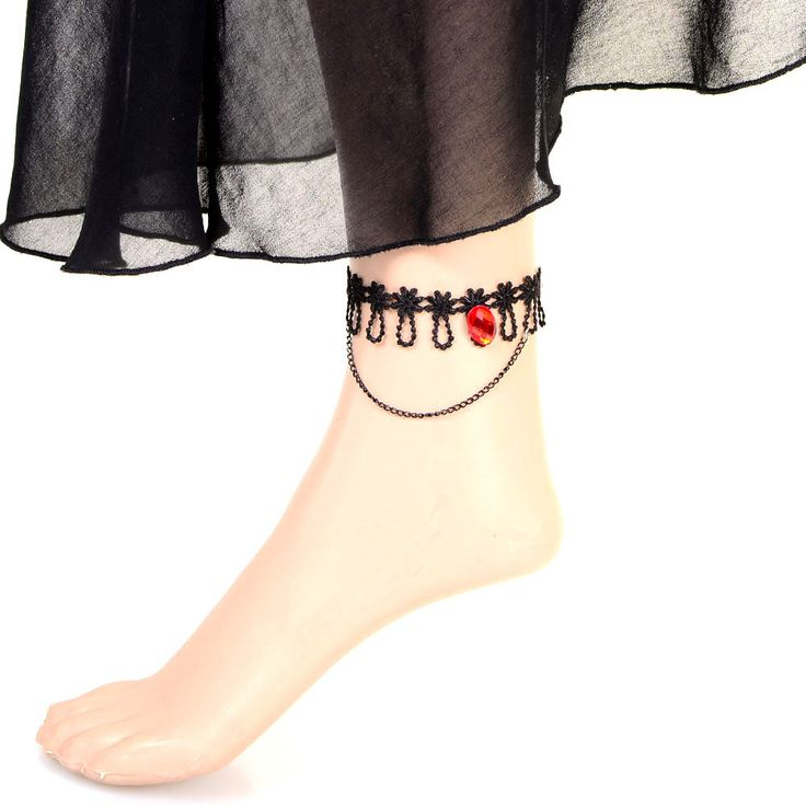 Online Buy Beora Red Stone Pendant Lace Anklet at Trendy Mela. Buy this at just Rs.499 & get free shipping in India. Buy Now @ Trendymela.com