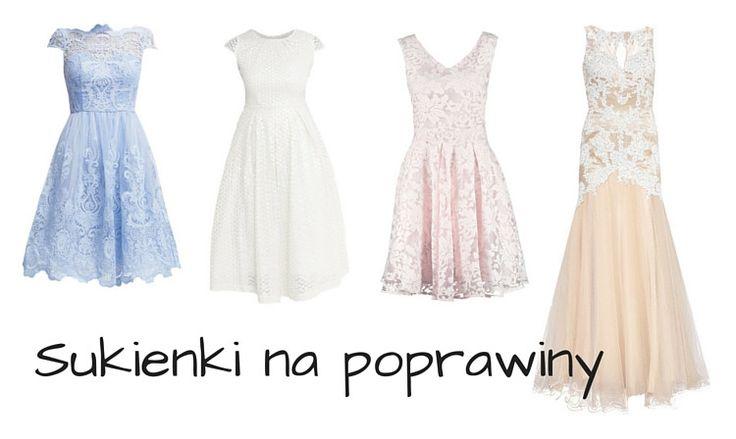 Sukienka na poprawiny dla panny młodej - TOP 20