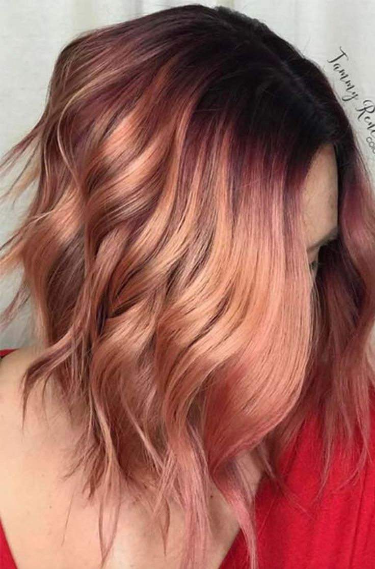 Balayage hair colors for summer hairstyles 2019