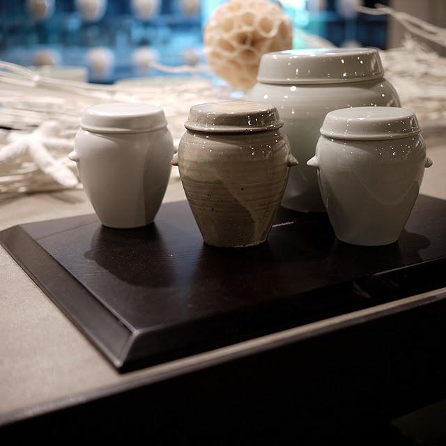 Ceramic mini onggi from Kwangjuyo.
