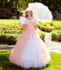 Southern Belle Dress on Pinterest | Civil War Dress, Historical ...