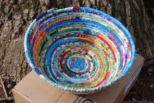 Coiled Fabric Bowls! (tons of photos) - HOME SWEET HOME