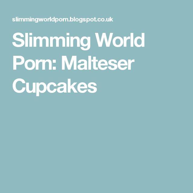 Slimming World Porn: Malteser Cupcakes