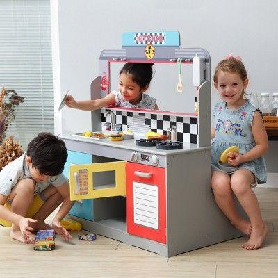 Teamson Kids Brooklyn Diner Play Kitchen