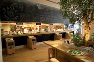 De lekkerste Italiaan van Rotterdam Vapiano is een informeel Italiaans restaurant naar een heel succesvol Duits concept.
