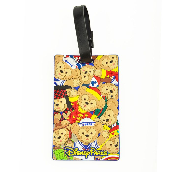 HK DisneyLand Duffy Luggage Tag ID Card Holder Pass Cases Ticket - id card