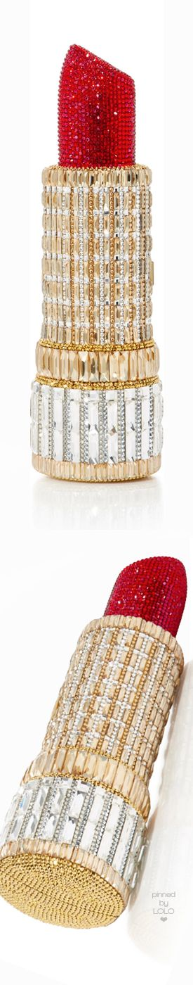 Judith Leiber Couture Seductress Lipstick Clutch