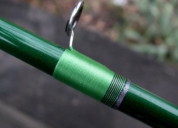 67 best dale custom rod ideas images on pinterest for Green fishing rod