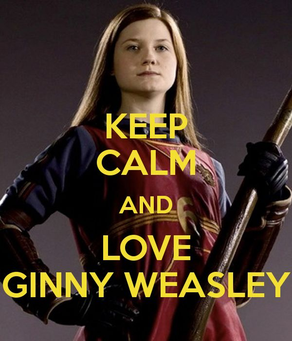 KEEP CALM AND LOVE GINNY WEASLEY Poster | eowyn_14 | Keep Calm-o-Matic