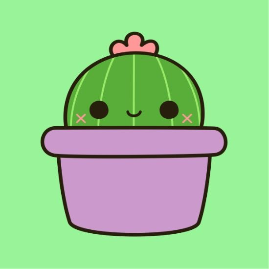 Cute Cactus - Holly