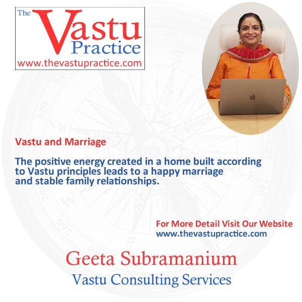 The positive energy created in a home built according to Vastu principles leads to a happy marriage and stable family relationships.  The master bedroom should always be in the South-West. If it is already occupied, the eldest son can use the bedroom in the South. Never use a bedroom in the South-East as this gives rise to marital problems and other tensions.