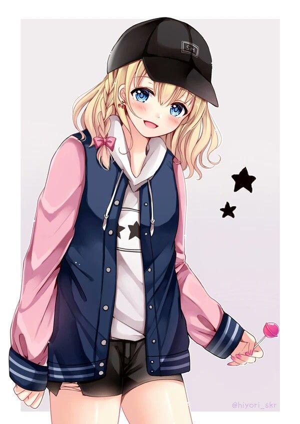 Картинки аниме современные девушки