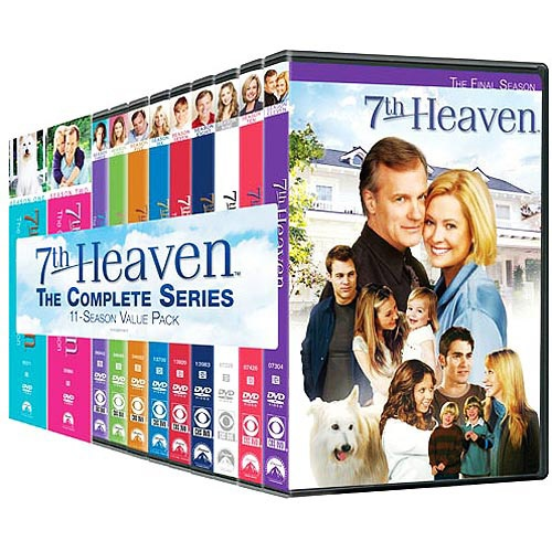 7th Heaven: The Complete Series Pack (Full Frame): Full Frames, Packs Full, Favorite Tv, Packs Dvd, Complete Series, Series Packs, Televi Favorite, 7Th Heavens, Film Music Book