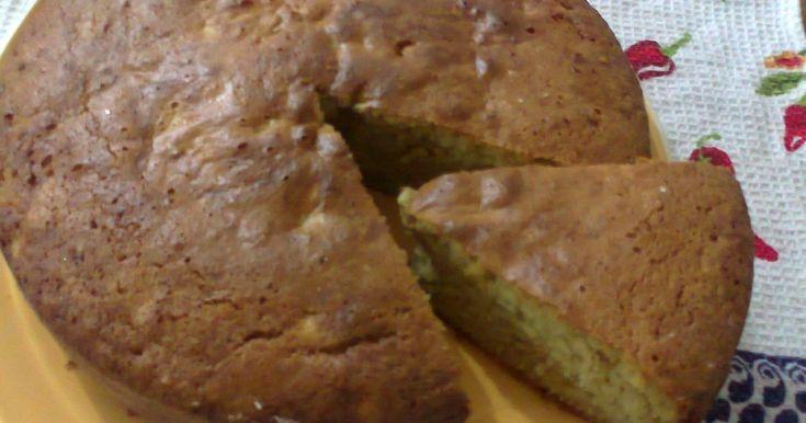 Fabulosa receta para Torta de banano . Una torta muy deliciosa, económica y que a todos les gustara