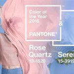 Pantone anuncia Quartzo Rosa e Serenidade como as duas cores do ano de 2016