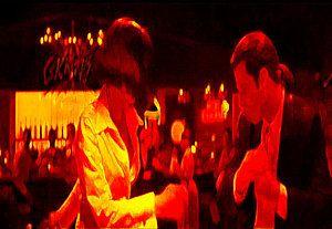 Pulp Fiction Digital Art - Pulp Fiction Dance 4a by Brian Reaves