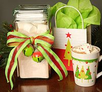 Creamy Hot Chocolate and Spiced Tea mix recipes. Perfect for the dropping temps!