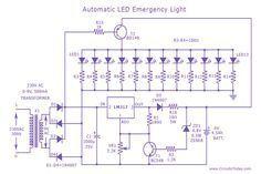 led-emergency-light-circuit