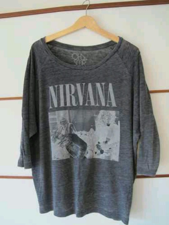 Nirvana shirt by Chaser LA.