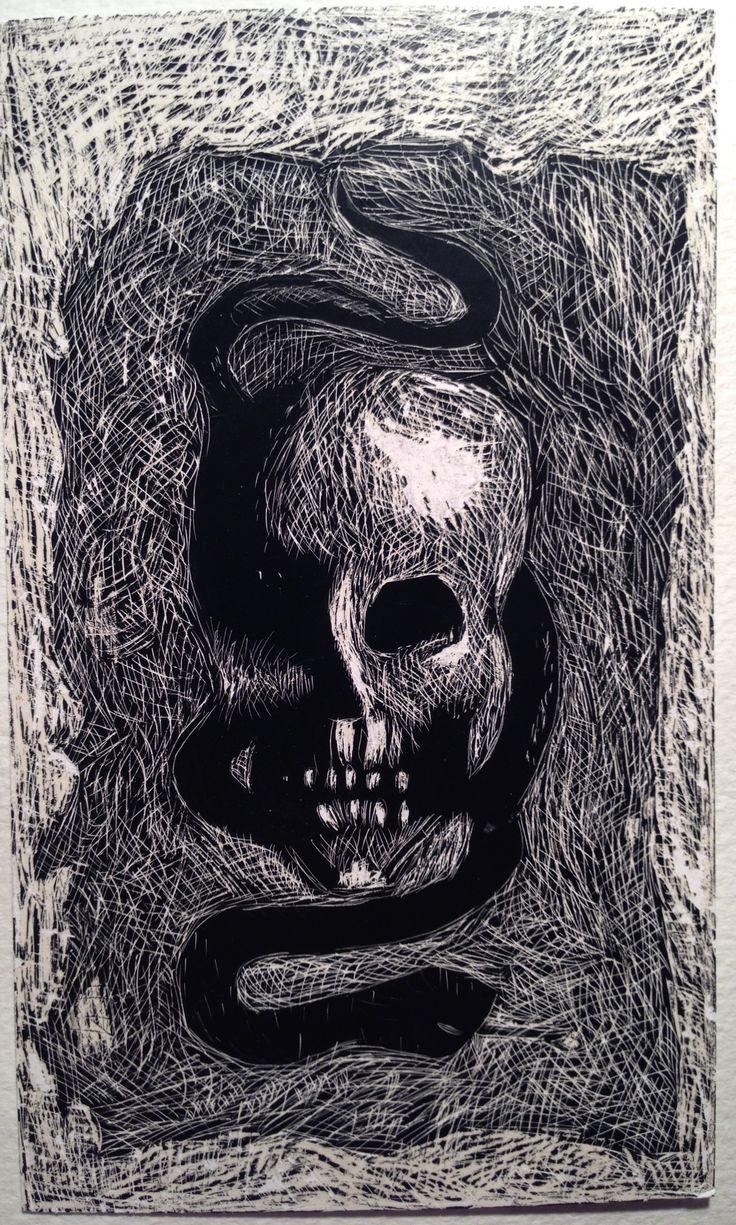 Mallina Oscar Parviaisen Kuolema puree käärmettä #raapekartonki
