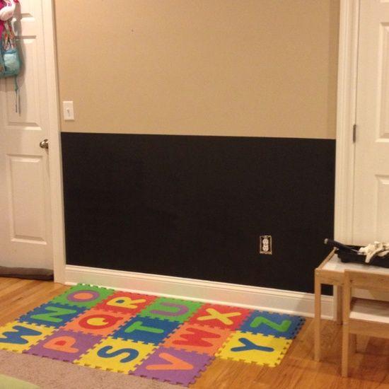 Chalkboard Wall Playroom Playroom Ideas Playroom