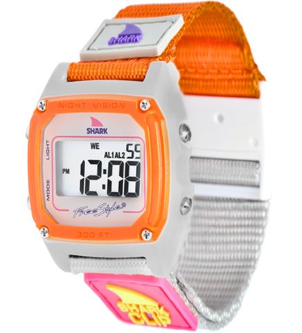 Freestyle Shark Watch Clip Taup/Neon