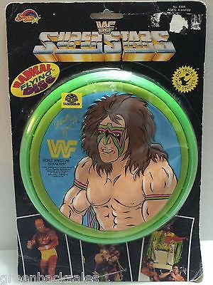 (TAS008549) - WWE WWF WCW Wrestling Radical Flying Disc - Ultimate Warrior