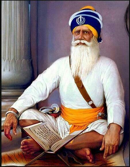 The great martyr Baba Deep Singh Ji.