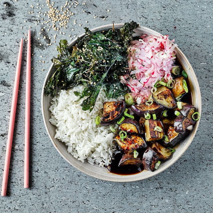 A quick and easy Teriyaki Aubergine Donburi recipe, from our authentic Asian cuisine collection. Find brilliant recipe ideas and cooking tips at Gousto