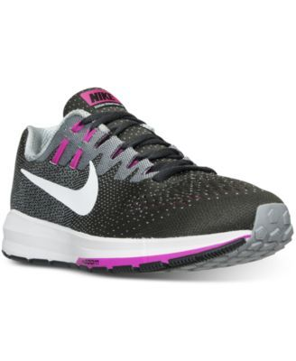 Nike Women'S Air Zoom Structure 20 Running Sneakers From Finish Line -