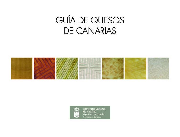 Guía de quesos de Canarias