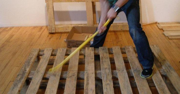 Θα εκπλαγείτε ευχάριστα μόλις δείτε τι μπορείτε να κάνετε με μερικές ξύλινες παλέτες!