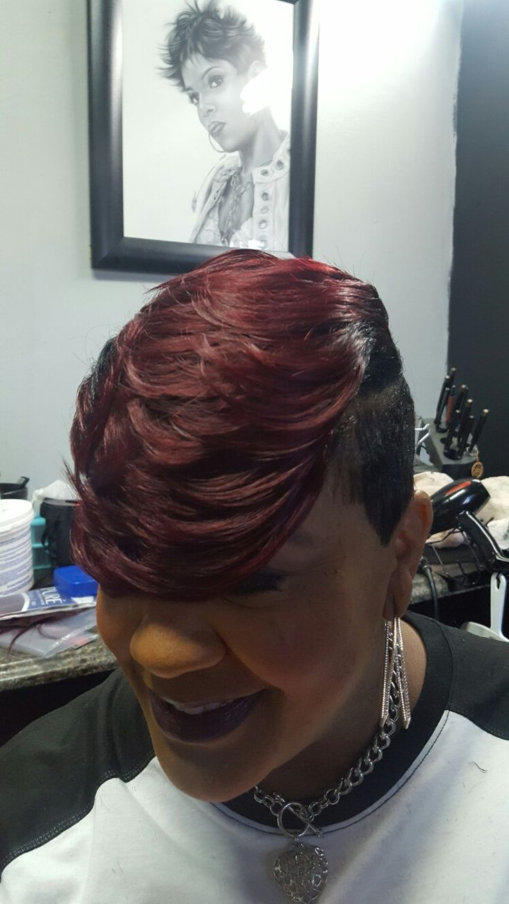 Short Weave Hairstyles Cute Haircuts Red Black Girls Natural Hairstyle Book Ideas Hair