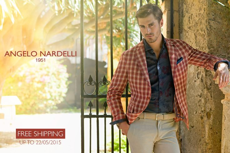 Take the chance !!! Buy now on https://store.angelonardelli.it Shipping will be free up to 22/05/2015 #AngeloNardelli #FreeShipping #StoreOnline #ss15