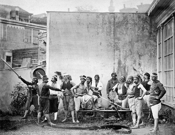 Пожарная команда, Стамбул, 1870 год