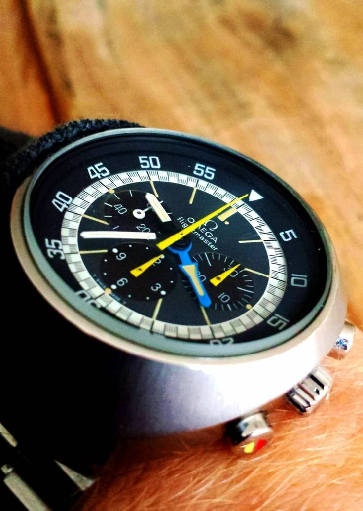 Vintage OMEGA Flightmaster Chronograph In Stainless Steel Circa 1970s - http://omegaforums.net