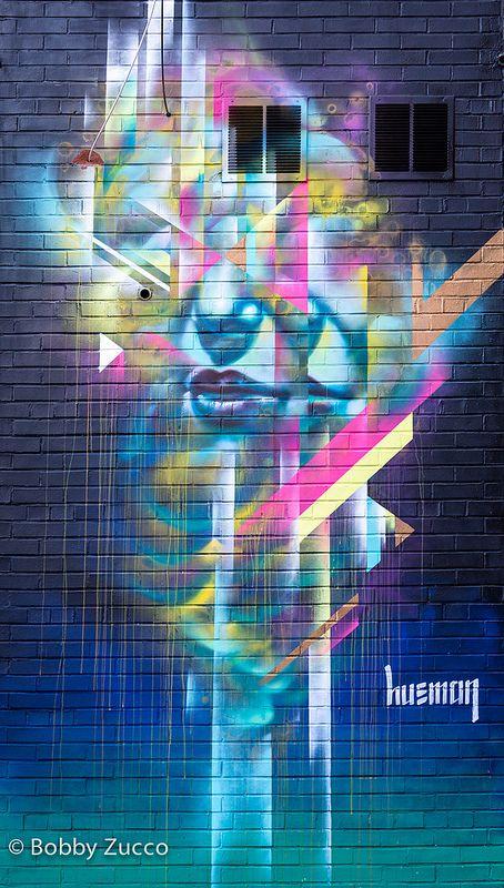 HUEMAN http://www.widewalls.ch/artist/hueman/ #streetart  #fineart #graffiti