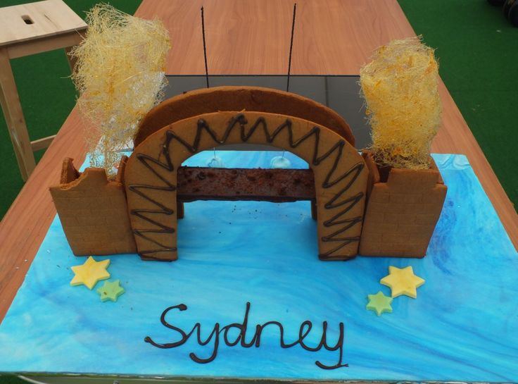 Brendan had the clever idea to add fireworks to his Sydney Harbour Bridge, just like New Year's Eve!