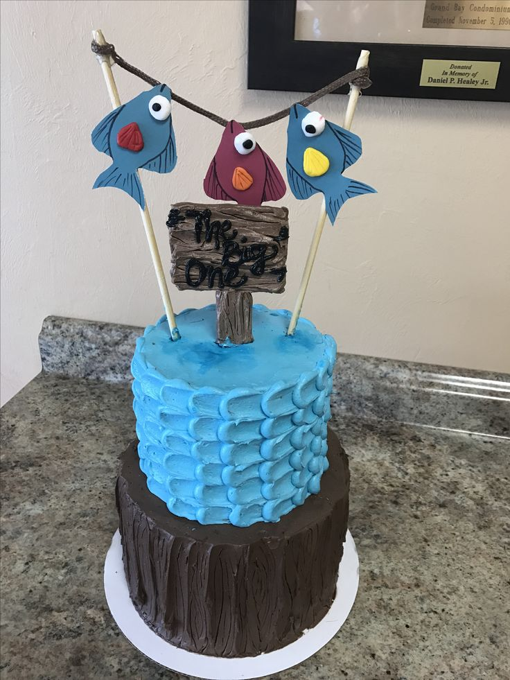 The 25 best ideas about gone fishing cake on pinterest for Fishing cake ideas