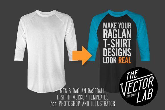 Download Men S Raglan Mockup Templates Psd Ai Mockup Templates Mens Raglan Baseball T Shirt Designs