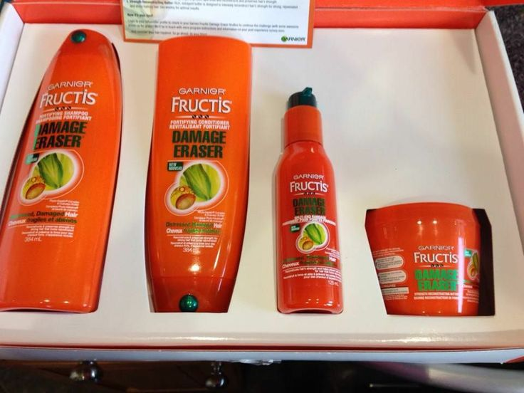 It was a mystery but now it's not! My Vox Box was Garnier Fructis Damage Repair and I love it!