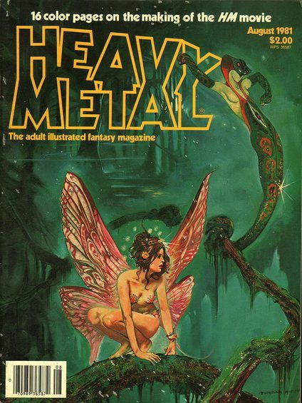 item details: Entire Issuekeywords: Corben, Gallic, Caza, Bilal, Cody Starbuck All of our vintage magazines have been stored in a dry, acid free environment.