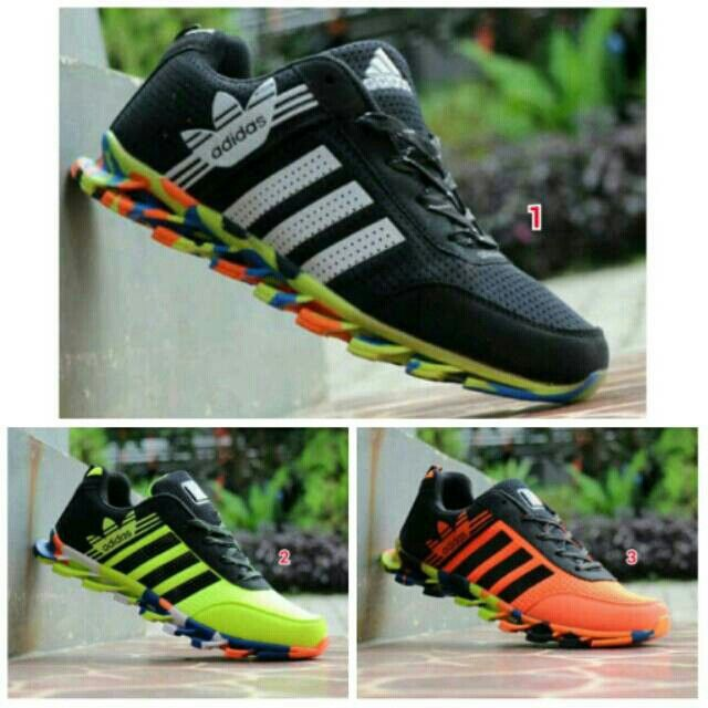 Saya menjual Sepatu ADIDAS Springblade Pria Olahraga Lari Cowok Running Jogging Sport Kampus Kuliah Jalan Murah seharga Rp269.000. Pin:331E1C6F  WA/SMS: 085317847777 LINE: Sepatu Aneka Model www.butikfashionmurah.com Dapatkan produk ini hanya di Shopee! https://shopee.co.id/sepatu_dan_jam_tangan/14279612 #ShopeeID