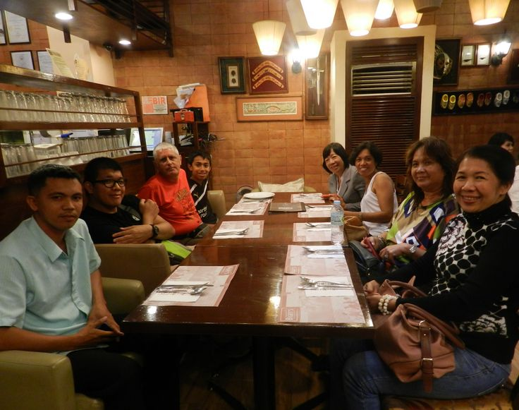 Dinner in Cebu City, July 15th.